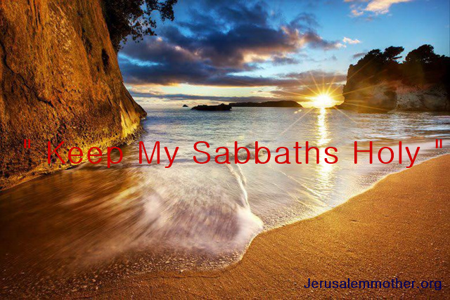 """ The Son of Man is Lord of the Sabbath "" -Matthew 12:8- WMSCOG"